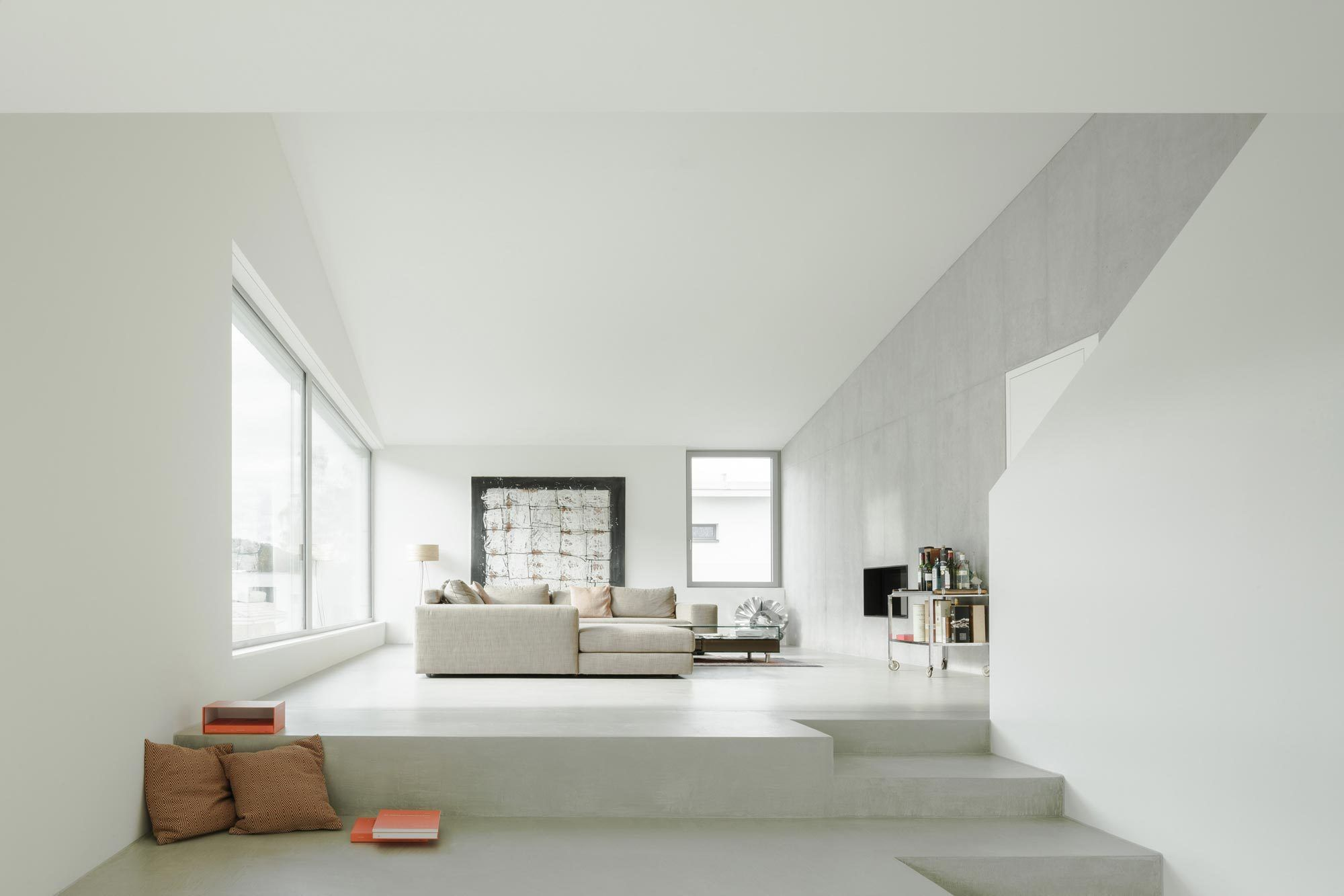 Es lebe das Split Level Wohnhaus in der Schweiz