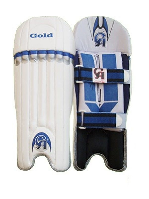 Ca Gold Wicket Keeping Cricket Leg Guard And Avail Free Shipping Usa To Canada Now Legs Gold Cricket