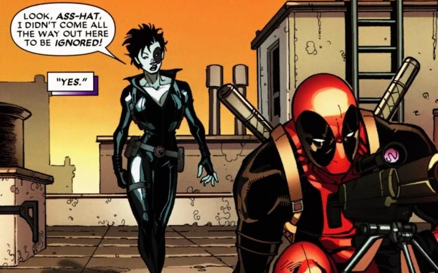 Image result for domino and deadpool marvel