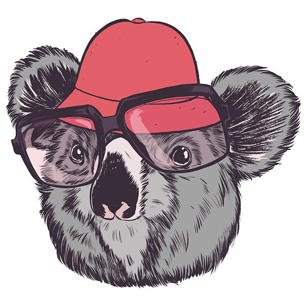 Funky Illustrations Of Animals That Simply Ooze Attitude - DesignTAXI.com