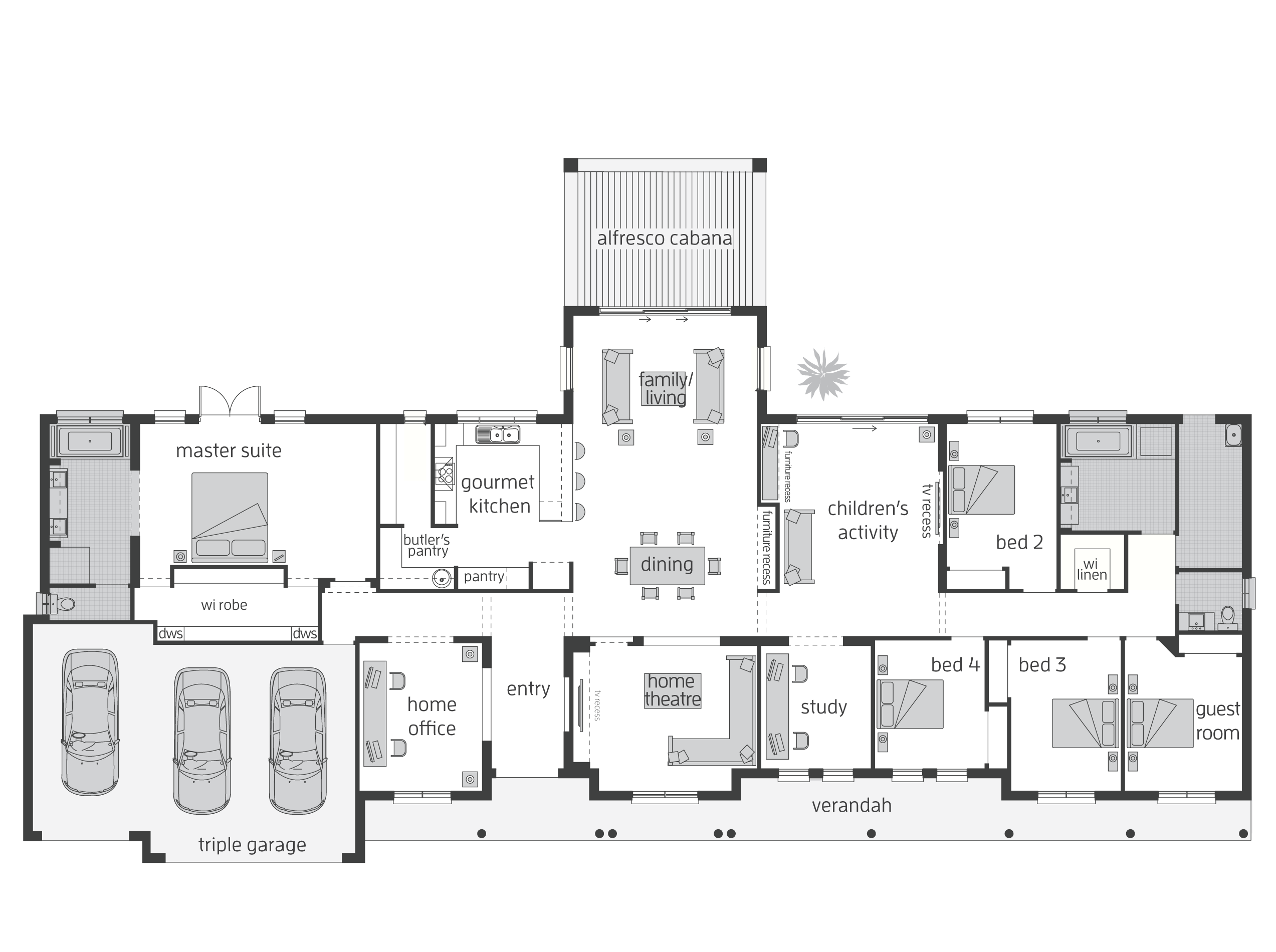 House Plans And More, Floor
