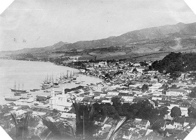 J. Murray Jordan - St Pierre Before The Eruption, 1898 | Flickr: partage de photos!