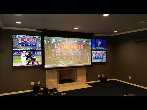 nice Home Theater Installation Los Angeles