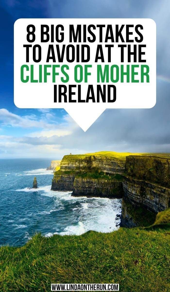 8 Big Mistakes To Avoid At The Cliffs Of Moher Ireland
