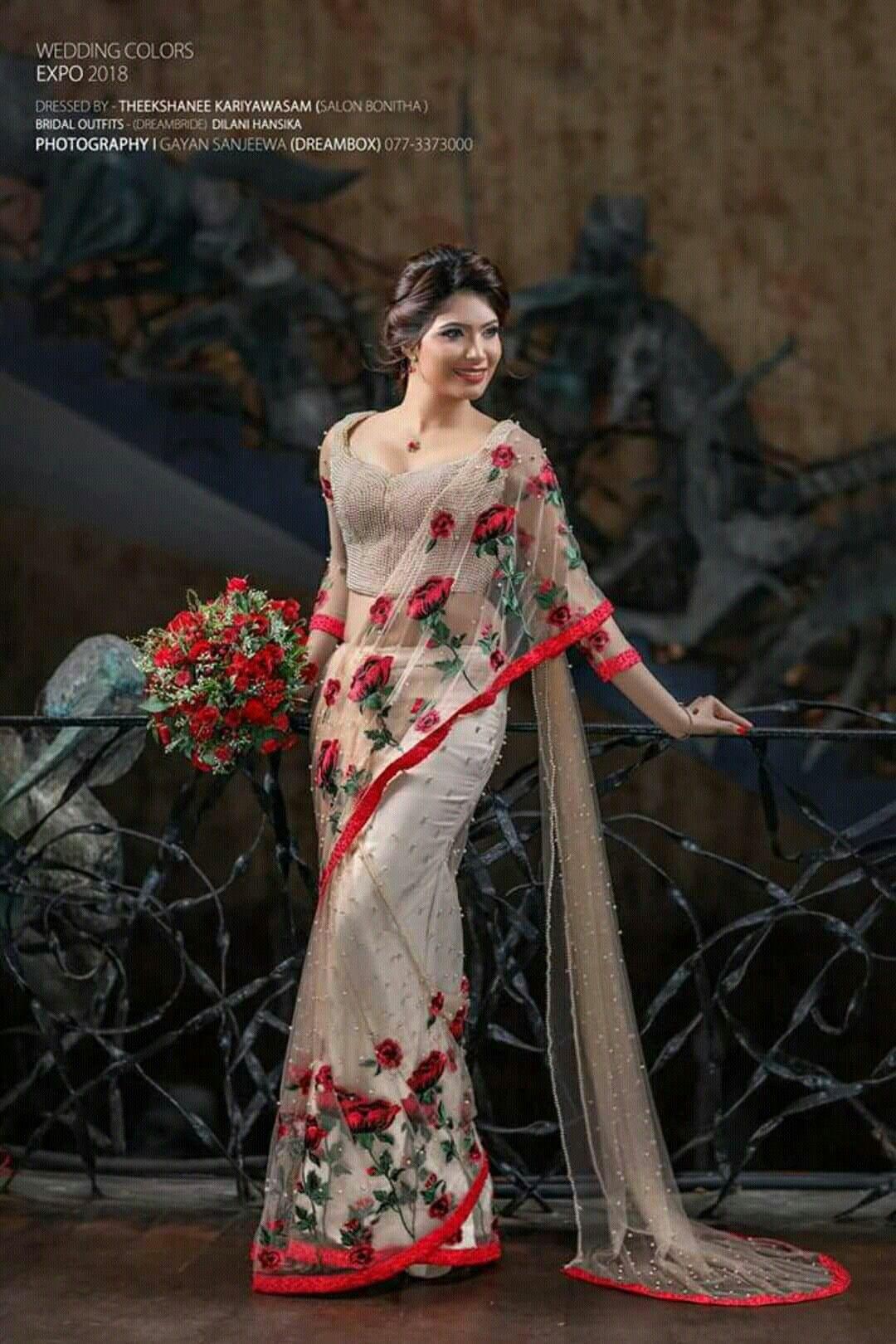 Salon Bonitha Saree Designs Saree Dress Saree Blouse Designs