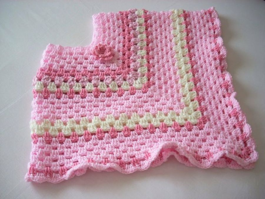 diseños de ponchos para niñas tejidos a crochet - Buscar con Google ...