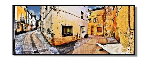 Streets in Vandellos by Vittis from Lithuania, via Flickr