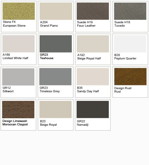 Dulux Metalic Paint Colour Chart