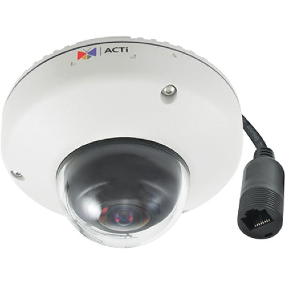 ACTi E919M 3Mp 1 19Mm Fisheye Lens Ip Outdoor Mini Dome