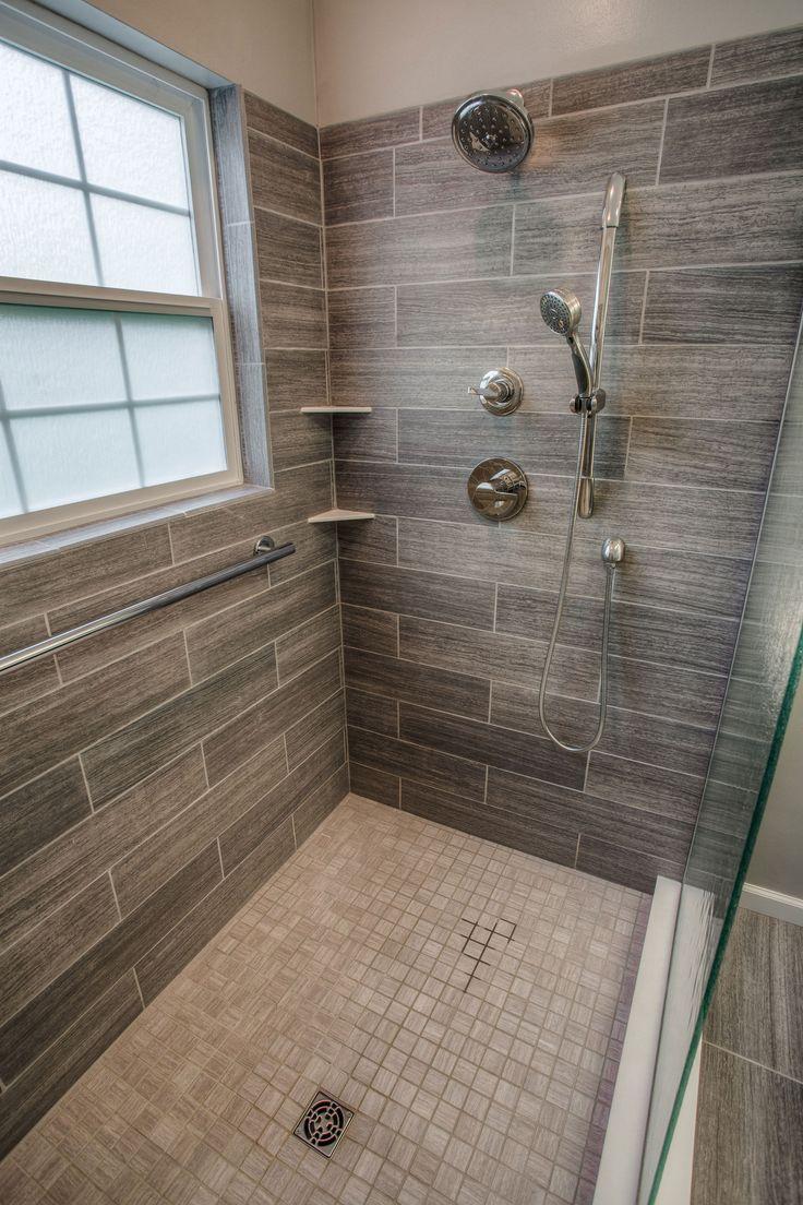 Cibuta West Lafayette Contemporary Shower Remodel 3 Home Decor 2017 In 2020 Bathroom Remodel Shower Shower Remodel Bathroom Remodel Master