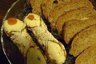 Sicilian cannoli for breakfast www.bbcristiana.com