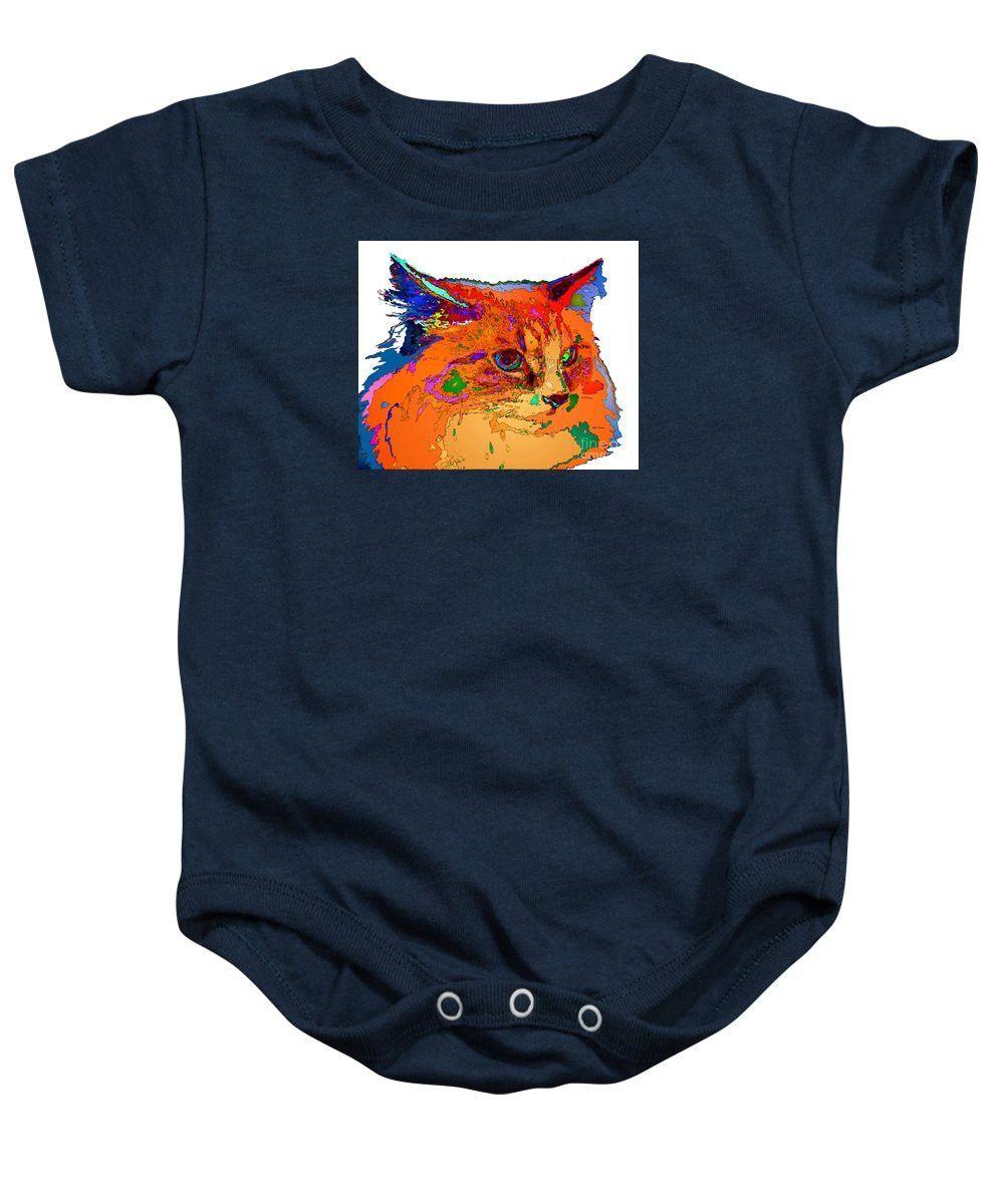 Baby Onesie - Stella The Cat. Pet Series