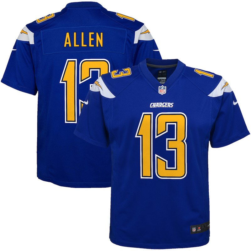c242bc7b Keenan Allen Los Angeles Chargers Nike Youth Color Rush Player Game Jersey  – Royal