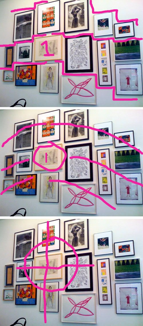 How To: Hang Art in Groups (Like Kate Spade) | Renovieren ...