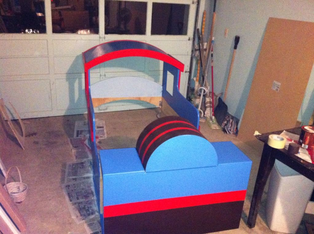 Building A Thomas Train Bed Carpentry DIY Chatroom