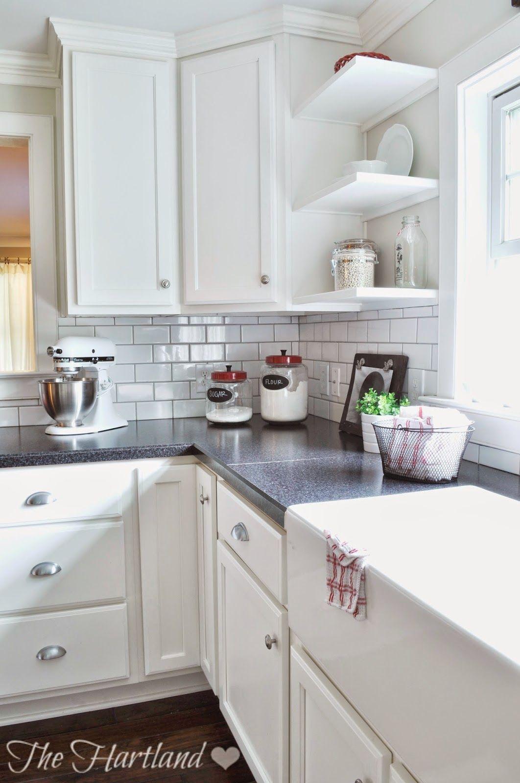 Shelves flanking window | Kitchen Remodeling | Pinterest | Shelves ...