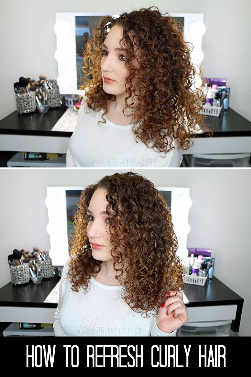 VIDEO: How to Refresh Curls in 5 Minutes for Next Day Hair - Gena Marie