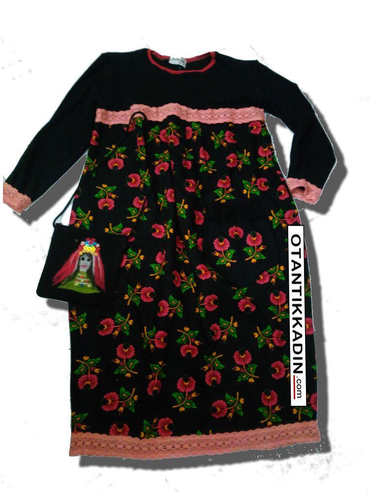 Otantik Kirmizi Cicekli Pazen Elbise 251116 Otantik Kadin Otantik Giysiler Elbiseler Bohem Giyim Etnik Giysiler Kiyafetler Pancola Giyim Pazen Elbiseler