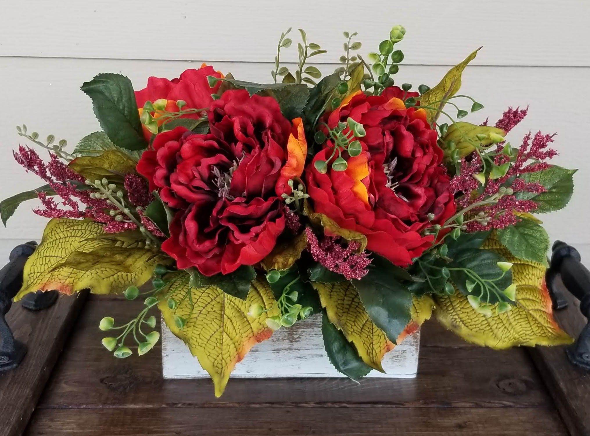 rustic farmhouse floral arrangements