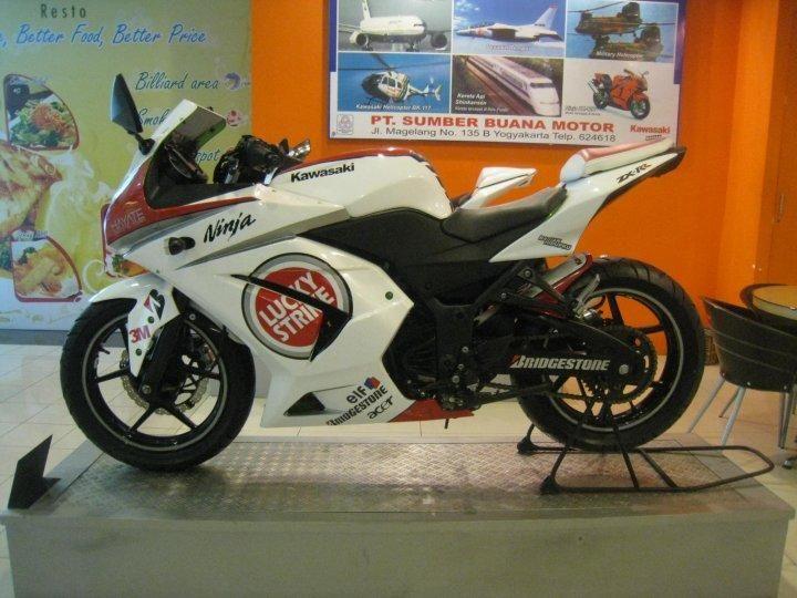 Variasi Modifikasi Kawasaki Ninja 250r Super Keren