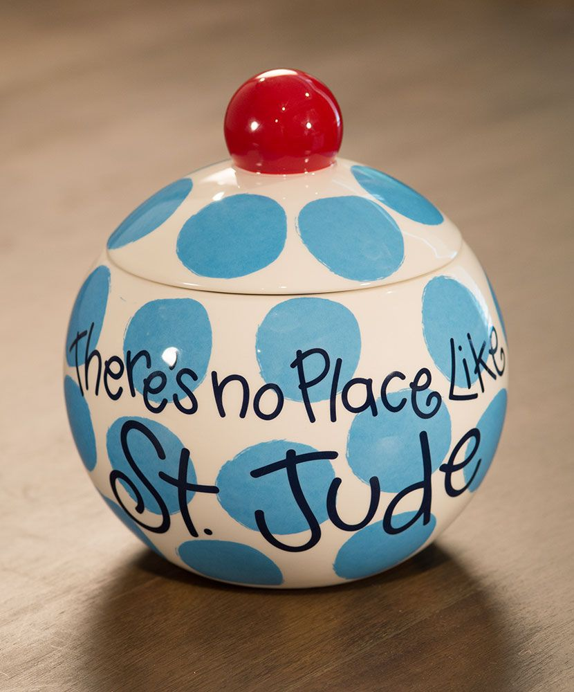 St. Jude Ceramic Cookie Jar | Christmas & My Snowmen :-O | Pinterest