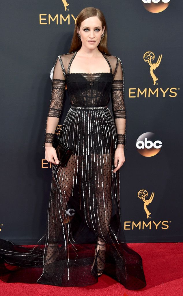 Carly Chaikin: 2016 Emmys Red Carpet Arrivals