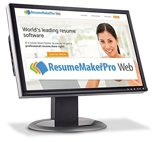 Use ResumeMaker Pro 24\/7\/365 online from anywhere with internet - resume maker software