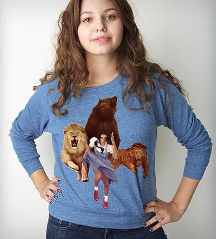 Women's Lion Tiger Bear Oh F$%& Pullover