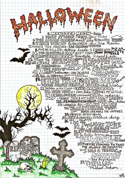 halloween parties - Halloween Party Songs For Teenagers