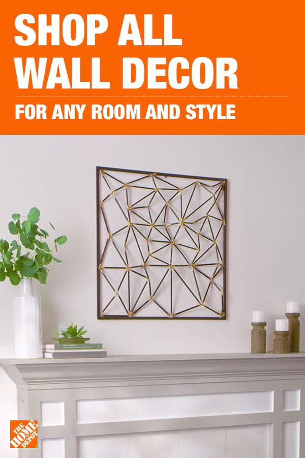 Discover Beautiful Wall Decor For Your Home Online At Homedepot Com Home Decor Online Decorating A New Home Wall Decor