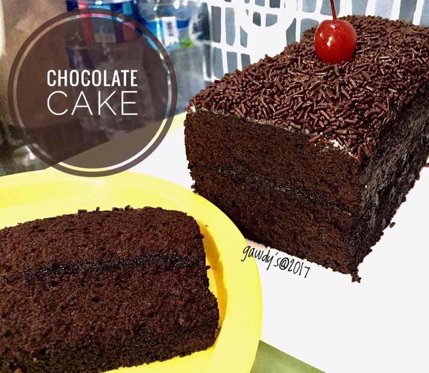 Cake Coklat Yang Di Adaptasikan Dari Resep Brownies Kukus Ny Liem Langsung Sukses Resep Kue Coklat Kue Cokelat Makanan Manis