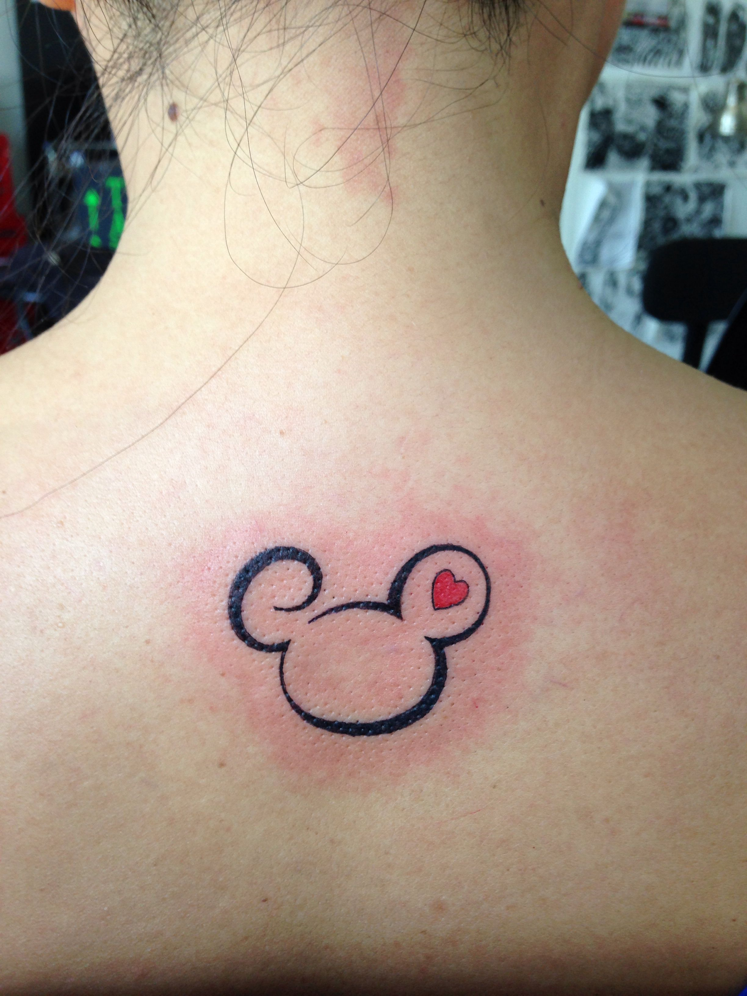 Mickey Mouse Tattoo Inked Mickey Mouse Tattoos Mouse Tattoos