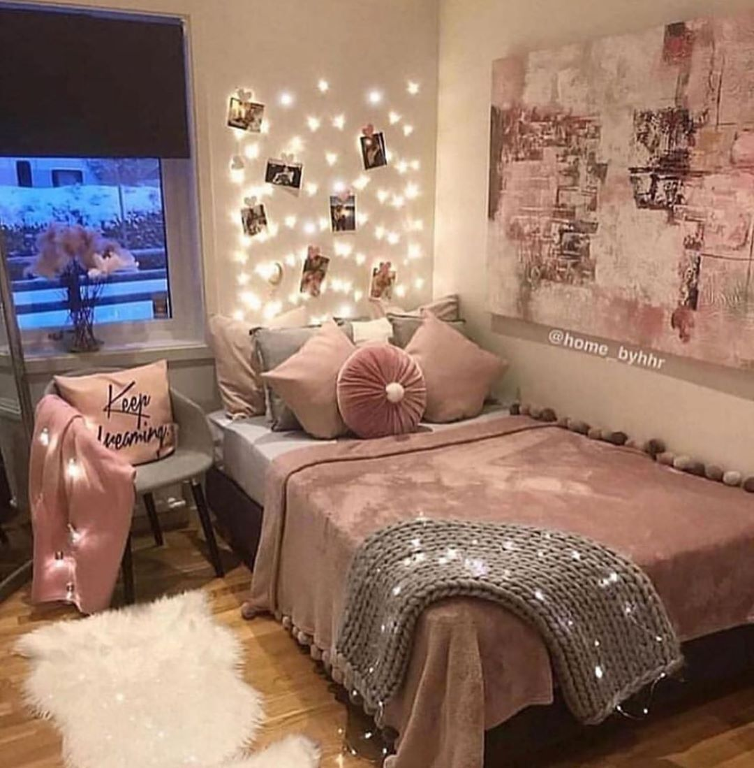 Dulce Sueno With Images Pink Bedroom Decor Rose Gold Bedroom
