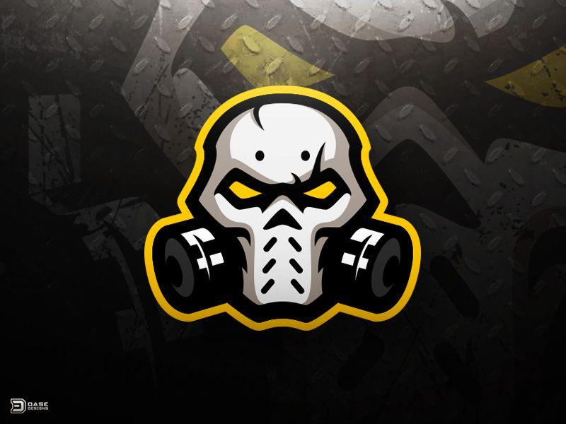 95675245df854 Skull Mask eSports Logo by Derrick Stratton
