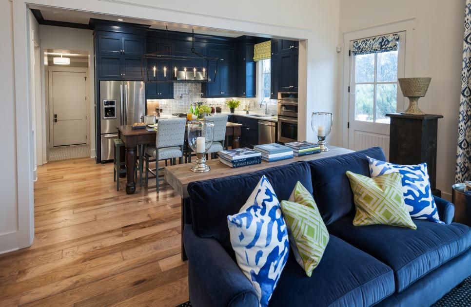 Pick Your Favorite Great Room Hgtv Smart Home 2019 Hgtv Green Walls Living Room Living Room Wall Designs Living Room Green