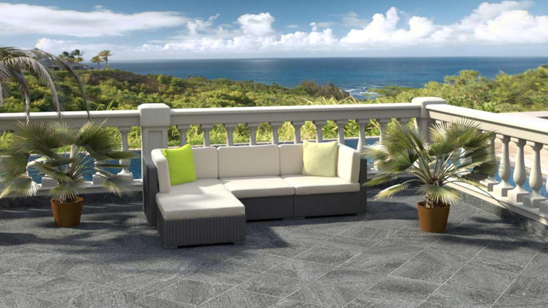 ARTELIA.FR | Salon de jardin Mavinia | Garden sofa, Couch ...