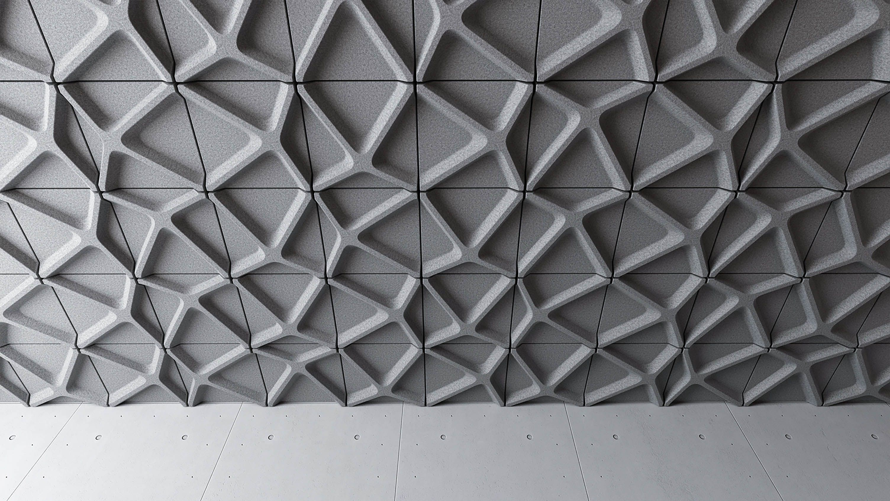 Voronoi Ceiling Tile Turf Materials Finishes Pinterest