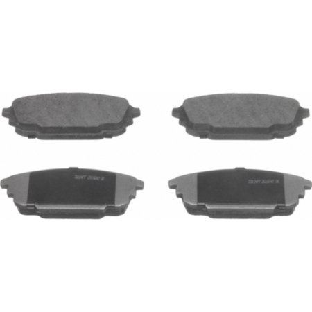 Wagner Brake Thermoquiet Ceramic Disc Brake Pad Set