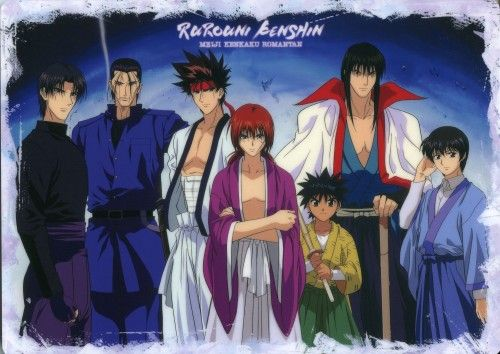Rurouni Kenshin cool group