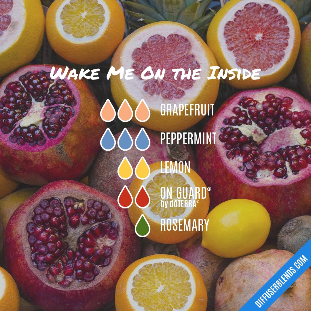 Blend Recipe: 3 Drops Grapefruit, 3 Drops Peppermint, 2