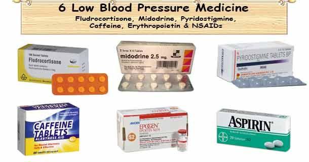 Low Blood Pressure Medication   Blood pressure remedies ...