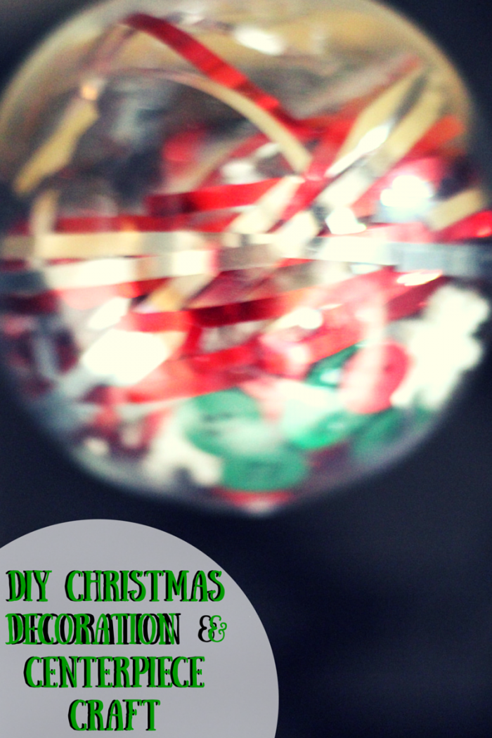 DIY Christmas Decoration & Centerpiece Craft #ad #jbbb #merrymaids #cleaning #decoration #christmas
