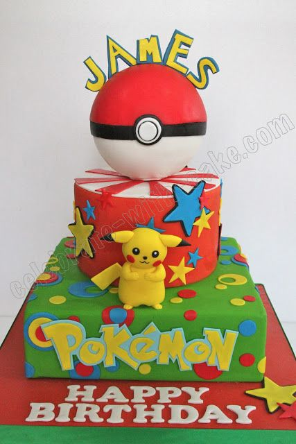 Celebrate With Cake Pikachu Pokemon Cake Pok 233 Mon Bdy