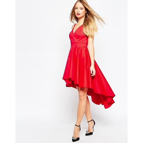 ASOS Prom Dress With High Low Hem ($135) ❤ liked on Polyvor…   My ...