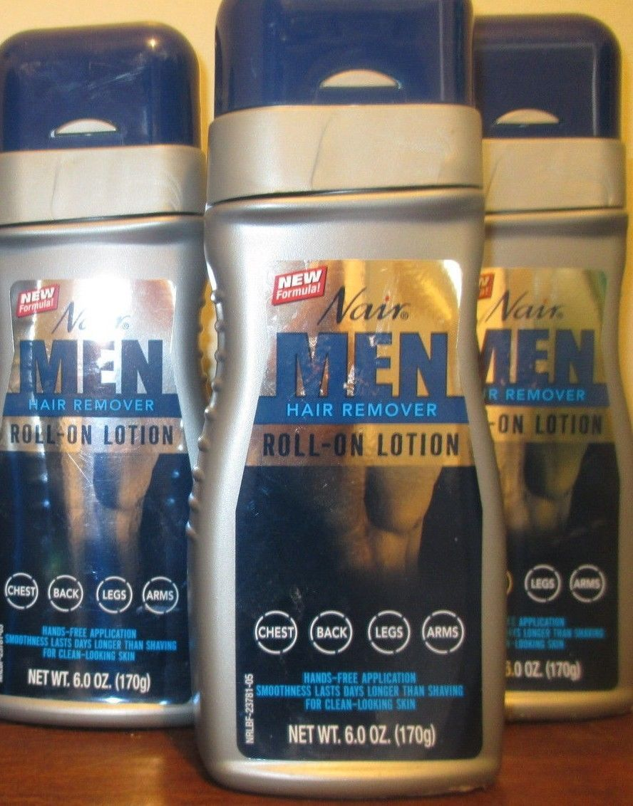 Hair Removal Creams and Sprays Lot Of  Nair For Men Hair Remover