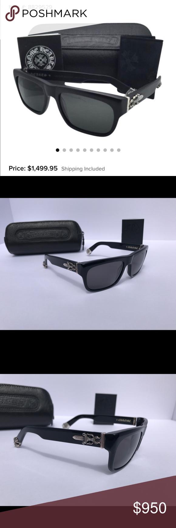 21eaaf0f1db5 LIKE NEW Chrome Hearts Sluss Bussin sunglasses I m selling my Chrome Hearts  Sluss Bussin