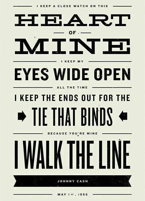 Johnny Cash Johnny Cash Country Lyrics Lyric Poster