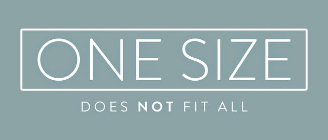 One Size Does NOT Fit All  #business #blog #worxgd