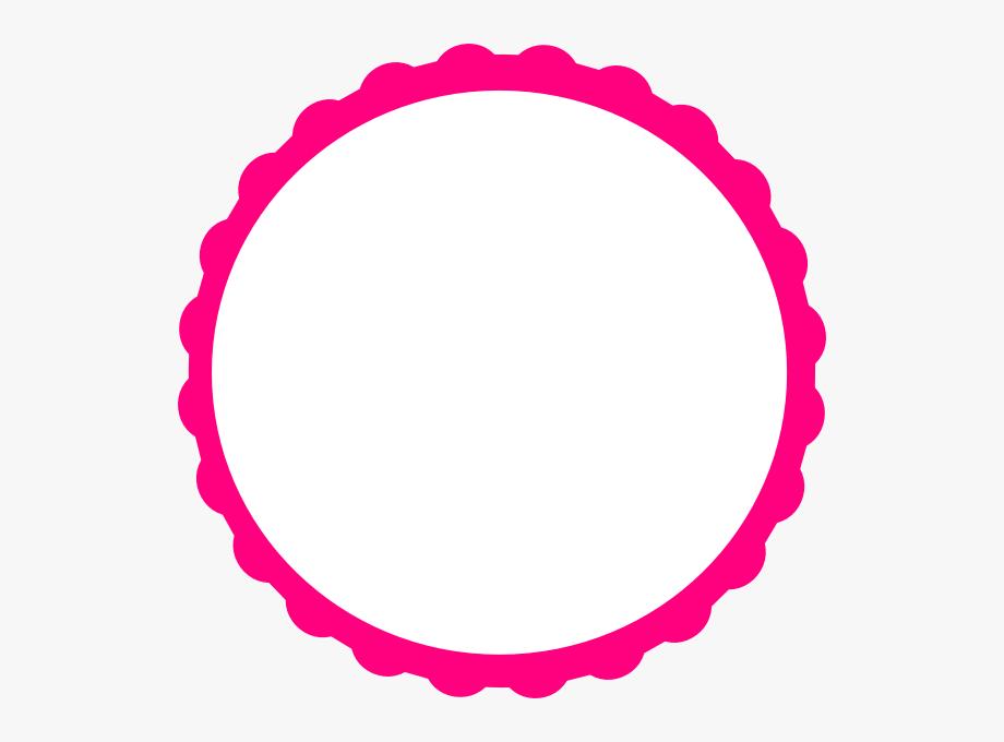 Pink Circle Frame Png Circle Frames Pink Frames Clipart Circle Frames Clipart