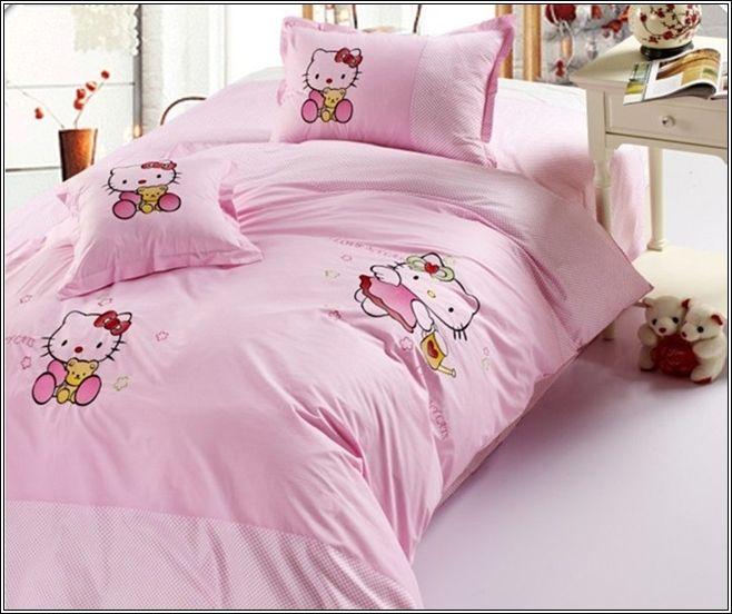 Superbe Décorez La Chambre De Votre Petite Fille Avec Hello Kitty Thème ! ~ Décor  De Maison / Décoration Chambre